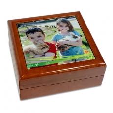 Geschenkkästchen mit Fotodruck