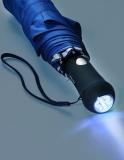 Automatischer Taschenschirm mit Beleuchtung